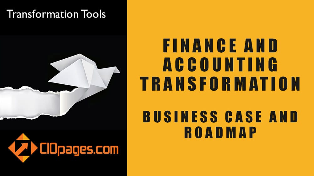Finance Transformation Strategy and Roadmap