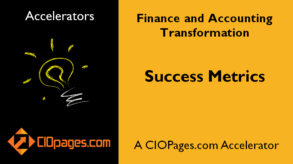 Finance Transformation Success Metrics