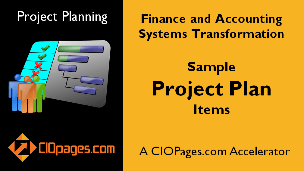 Finance and Accounting Software Implementation - Customizable Project Plans