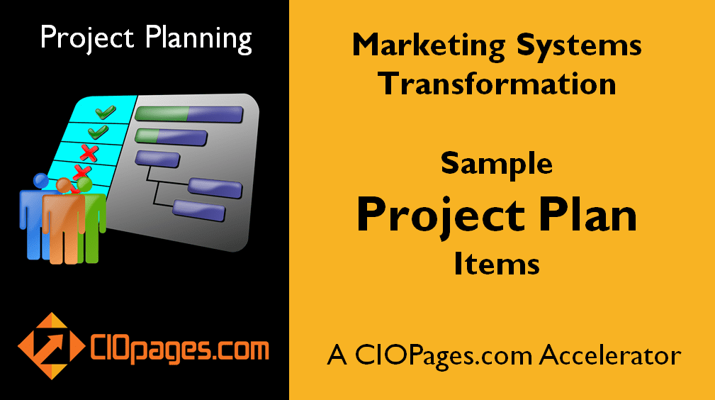 Marketing Software Implementation Sample Project Plan