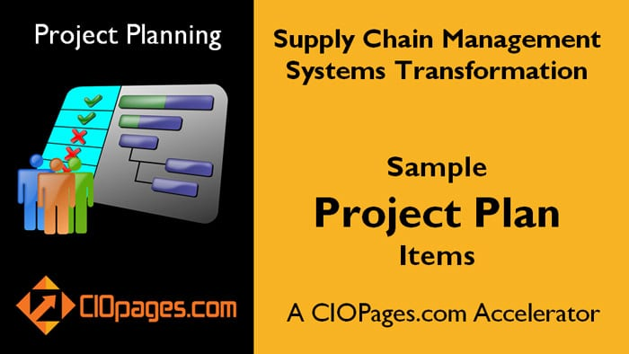 Supply Chain Transformation Project Plan
