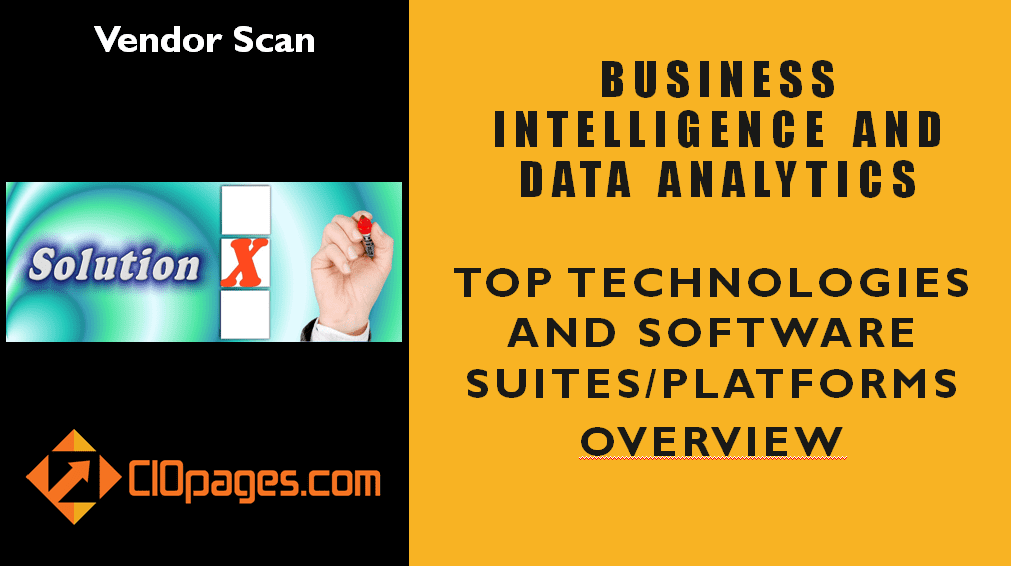 Data Analytics and Business Intelligence Software Vendor Scan