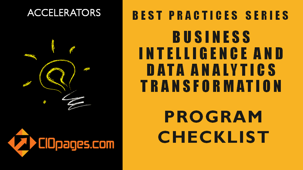 Business Intelligence Transformation Project Checklist