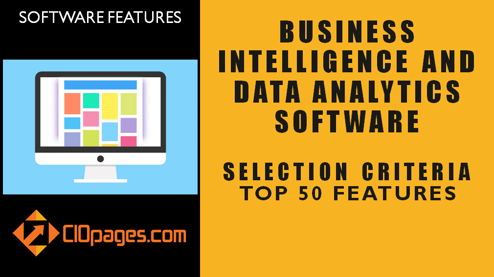 Business Intelligence Software Top 50 Features