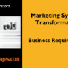 Marketing Business Requirements