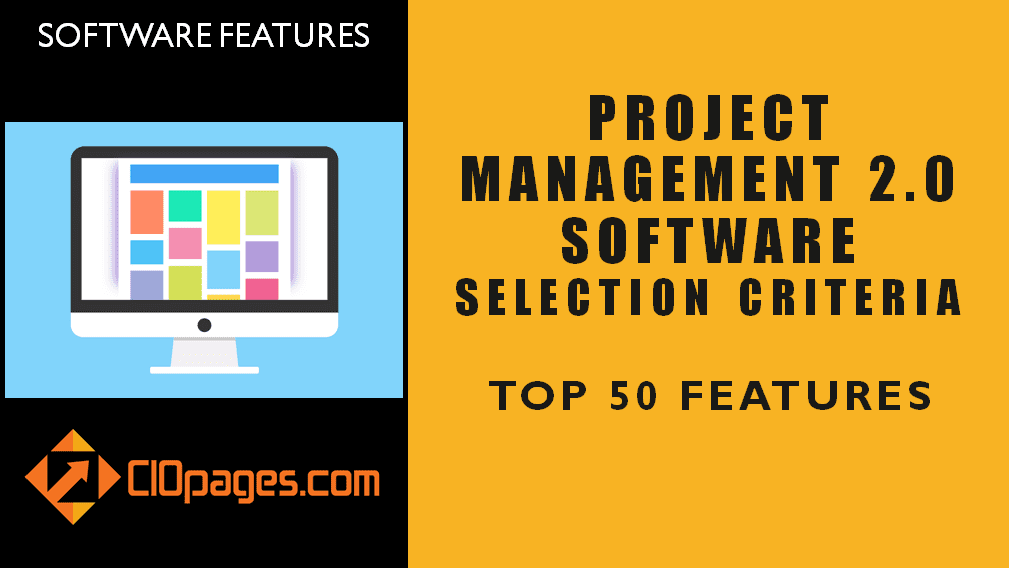 Project Management Software Top 50 Features