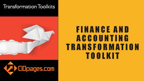 Accounting and Finance Transformation Toolkit